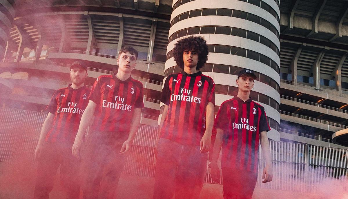 AC Milan hjemme trøje 18/19