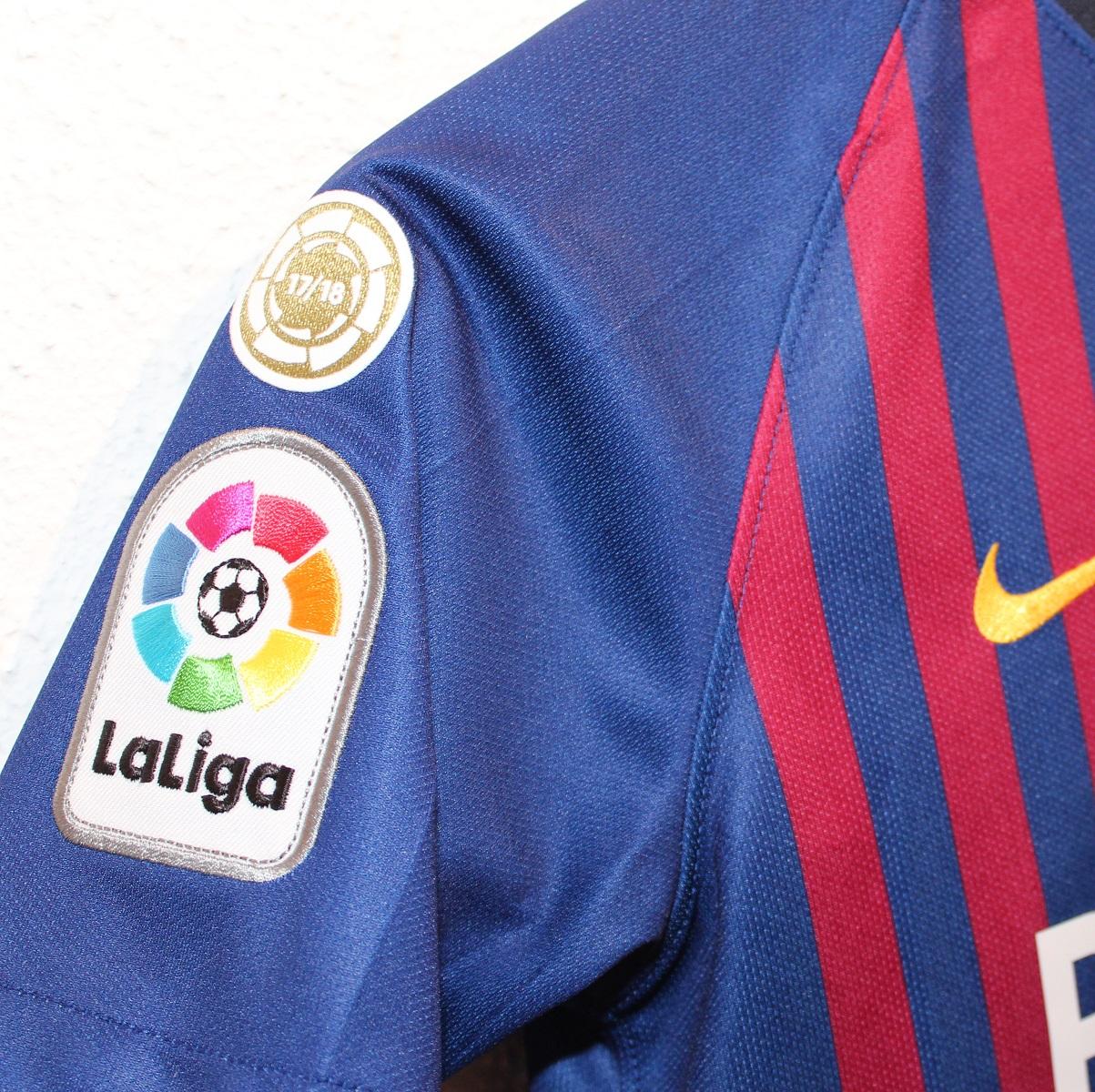 Barca champs badge 17/18