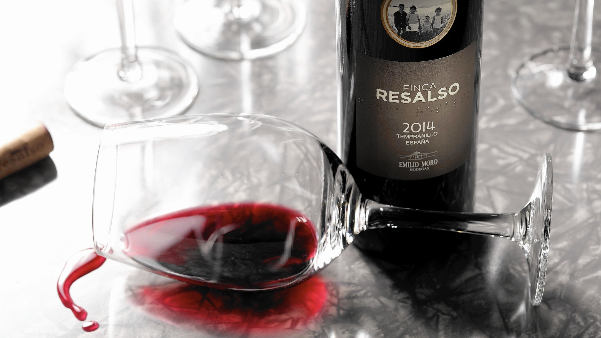 Spain red wine Ribera