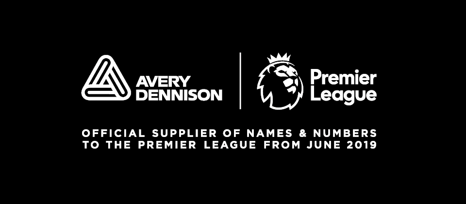 Avery Dennison Premier League tryk