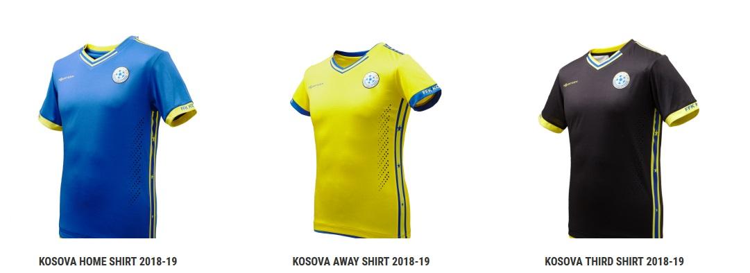 Kosovo og Geneve trøjer
