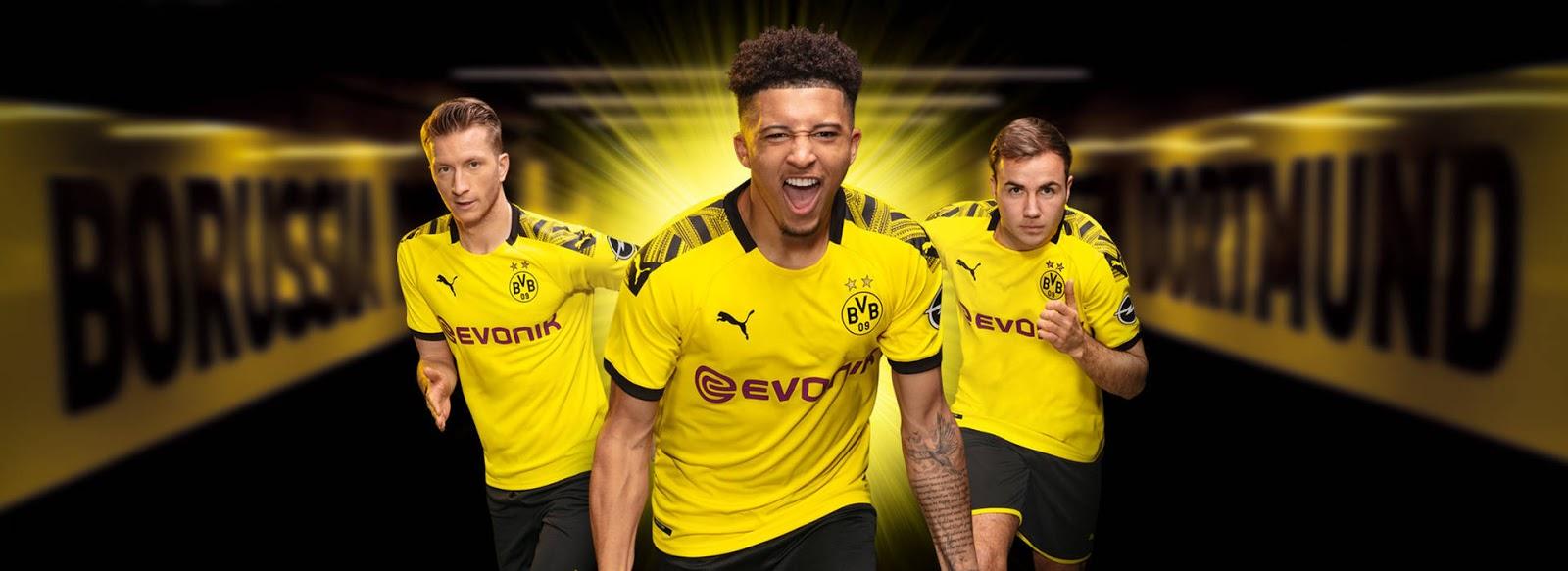 Dortmund hjemme trøje 19/20
