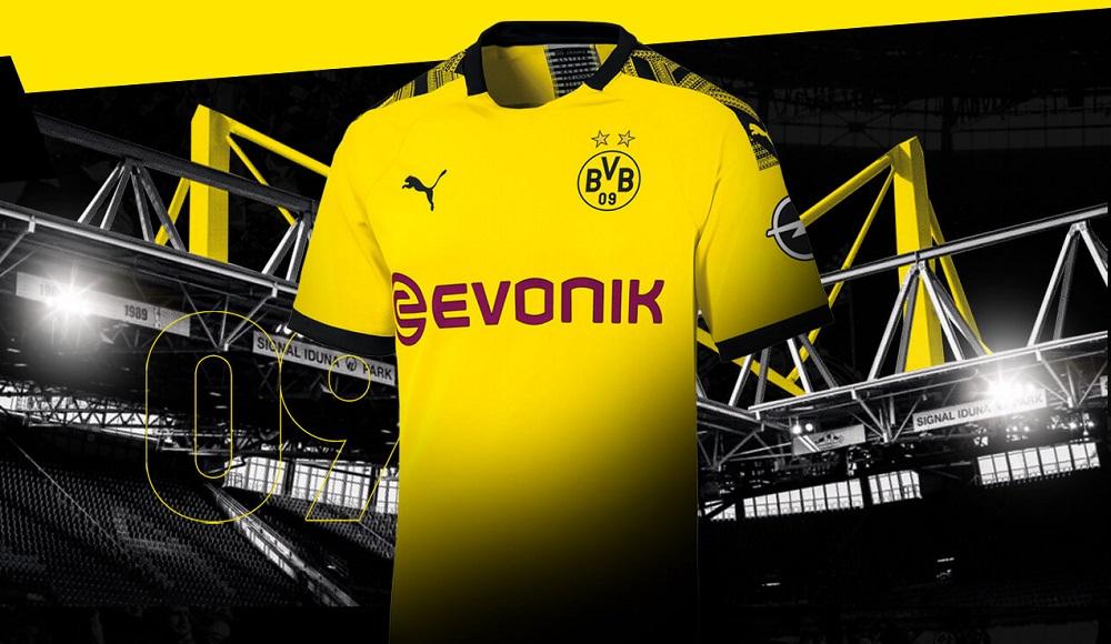 Dortmund hjemmebane trøje