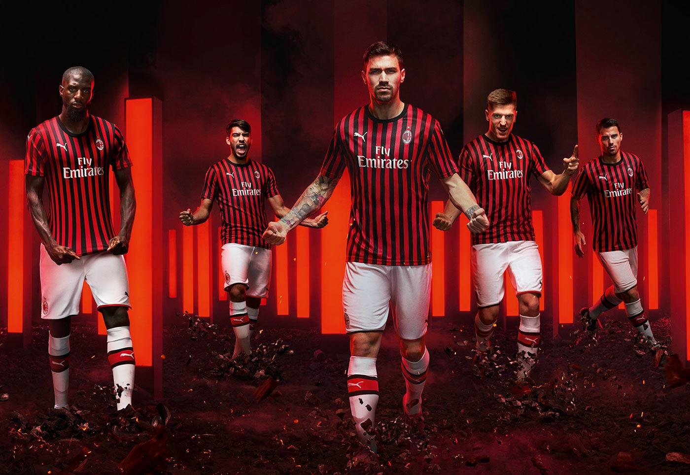 AC Milan hjemme trøje 19/20