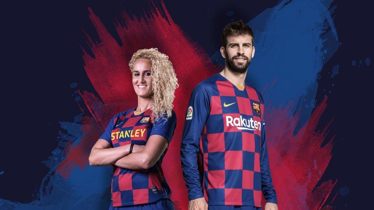 Barcelona hjemme trøje 19/20