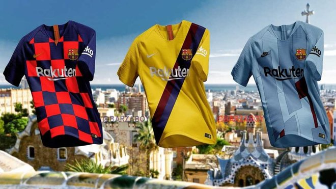Gyselige Barcelona trøjer