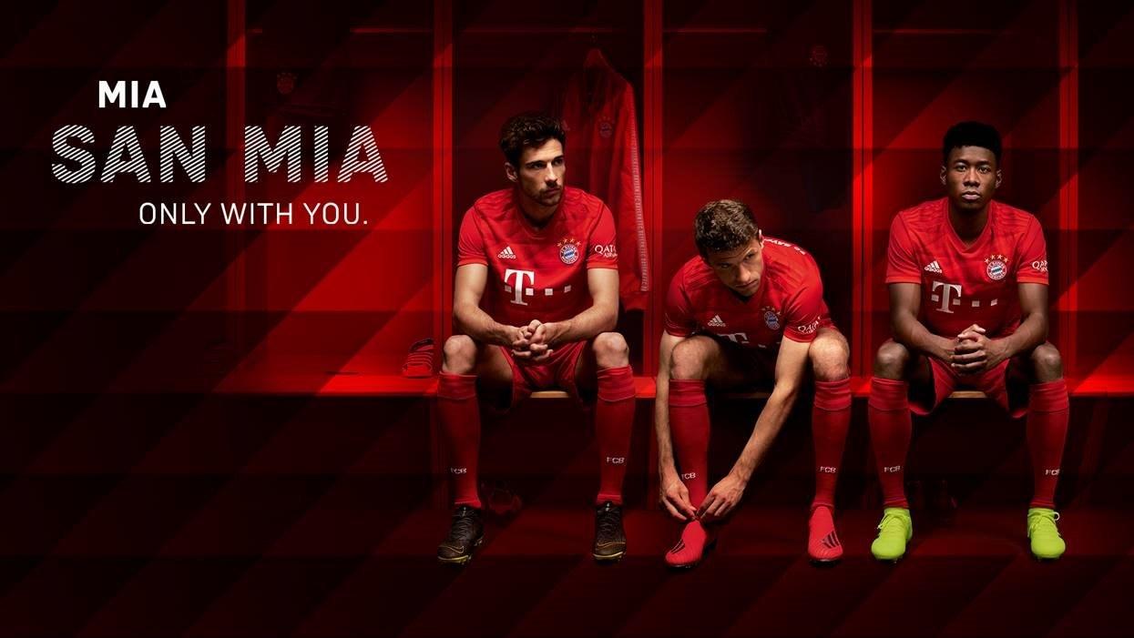 FC Bayern hjemme trøje 19/20