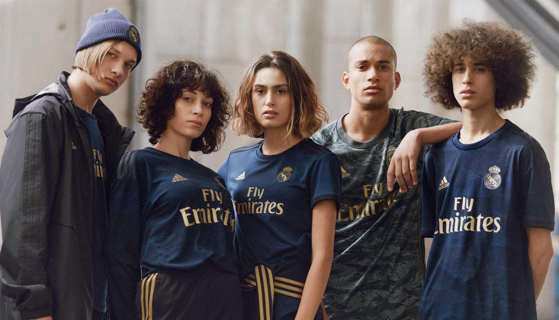 Real Madrid ude trøje 19/20