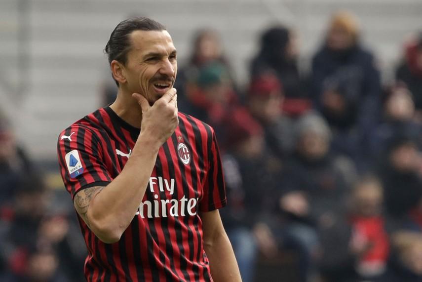 Ibrahimovic hos AC Milan