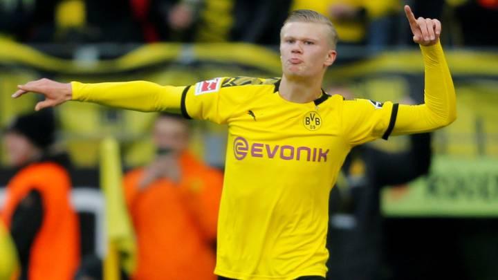 Haaland Dortmund hjemme trøje