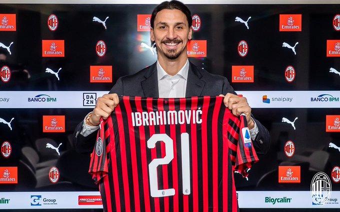 Ibrahimovic 21 hos AC Milan