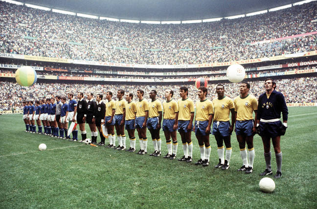 Brasil World Cup final 1970